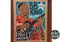 Blues Silkscreen posters by Mojohand.com