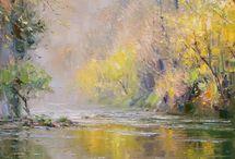 Rex Preston autumn trees