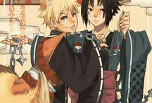NARUTO SHIPPUDEN Sasuke x Naruto