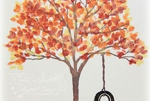 Cards stampin up Sheltering Tree / by Debbie Peters