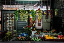 Food Markets in Macao / Head to your favorite local food market for something to eat!