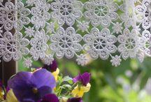 crochet curtains