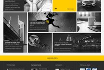 web design inspiration - magazine