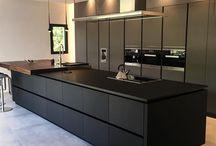 Modern kitchen apartment