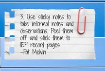 Teaching Students with IEPs / resources for teaching students with IEPs