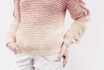 SAULIDI knitwear / Chunky cable knit sweaters