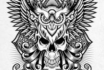 Mandala and Decorative Drawings / Mandala, Decorations, Pattern Drawing