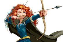 Ribbelle-the brave / lei è la mia principessa preferita della disney