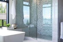 Bespoke glass shower screens / A collection of stunning bespoke glass shower screens to inspire.