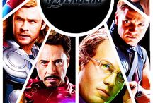 avengers / by Carley Hislope