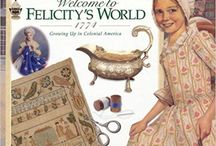 EXTRAS for Felicity Colonial America Unit Study (American Girl) / Colonial America Unit Study Idea Extras.  Books, crafts, activities, kits, videos, etc...to use with American Girl Felicity Colonial America History Unit by www.fieldsofdaisies.com