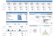 Excel inspirations / Graphs, dashboards, shortcuts, color combinations