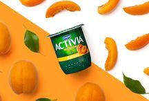 La touche fruitée / Notre gamme Activia aux fruits : pour tous les goûts !