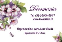 deco-chic.it  store online Decomania / store online Decomania  per privati e negozi