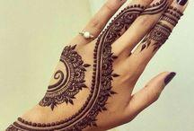 Henné Tattoo Design