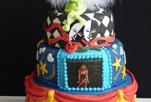 Pulling cake