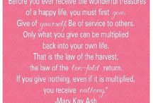 Mary Kay Quotes / by Kayla Kaurich
