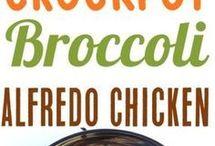 broccoli Alfredo chicken
