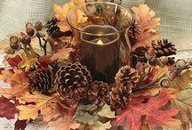 Dekorationer med lys - alle årstider