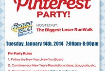 #NewYearNewYou Pin Party / Get ready for a Pinterest Party from The Biggest Loser RunWalk! Stay until the very end for a special surprise! / by The Biggest Loser RunWalk