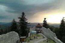 Kašperk castle / My photos from Kašperk