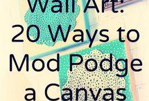 Wall Art / Home decor ideas for walls