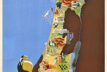 Travel Asia / Plakátok, Utazás régen, Városok, Országok