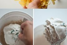 diy plaster flower