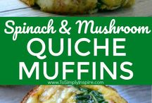 Quiche muffins
