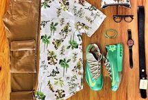 Conjunto camisas flores