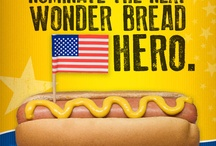 Wonder Heroes / We're honoring everyday heroes because they honor America. Tell us their stories at www.wonderbreadheroes.com and Wonder bread will make a $50,000 donation in the winner's name to the USO. Plus he or she will win $2,500 and a year's supply of bread! Nominations are open until June 8th!