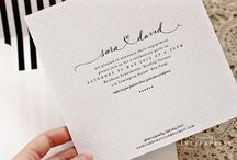 Wedding invitation - simple design