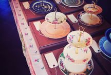 Cake Stands / Pretty vintage cake stands