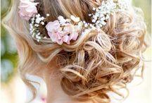 Marinak esküvői frizura