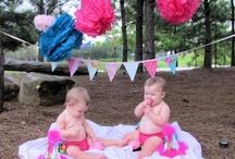 1st birthday photo shoot / by Lisa Bray
