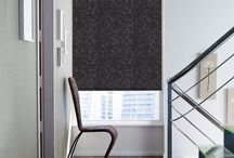 Majestic Black Blinds / Look for the bold black shades to decorate your room in a different manner