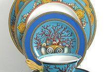versace porcelaine / by Mireille Drissi Beffara