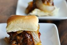 Burgers, sliders, and sandwiches