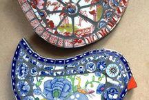 Mosaic garden creatures