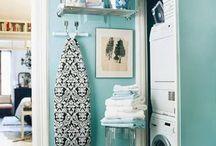Laundry room....