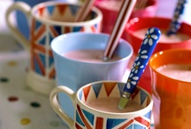 Cups and teapots / For those moments.
