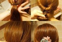 Hairstyles / by Abbi Luczynski