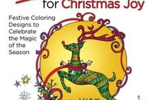 Inkspirations Christmas Joy / Christmas is a time of magic, and now  you can color your season even brighter with more than thirty original, festive designs, plus 12 pages of DIY projects including color-your-own gift tags, postcards, wine tags and more!