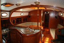 sail boat interiors