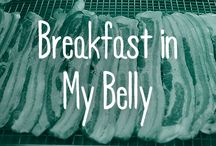 Breakfast in My Belly / Admit it. Break-y is the best meal of the day, at any time. Perncerks!!!!!! / by FYI TV