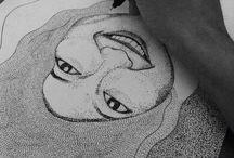 Pointillism / Apalah arti sebuah teknik dalam penciptaan karya rupa tanpa melibatkan perasaan didalamnya.