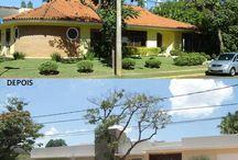 ANTES E DEPOIS / Ambientes antes e depois da Quitete&Faria.