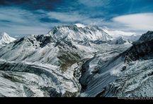 """Горы / Никогда не хотела заниматься альпинизмом или скалолазанием, где надо просто лезть вверх на пределе своих возможностей. Однако издаля горы - это очень красивая штука. Буду складывать сюда картинки на """"поглазеть""""."""