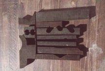 discarded parts / Merbau