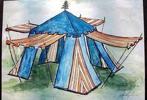 Tält och andra boningar